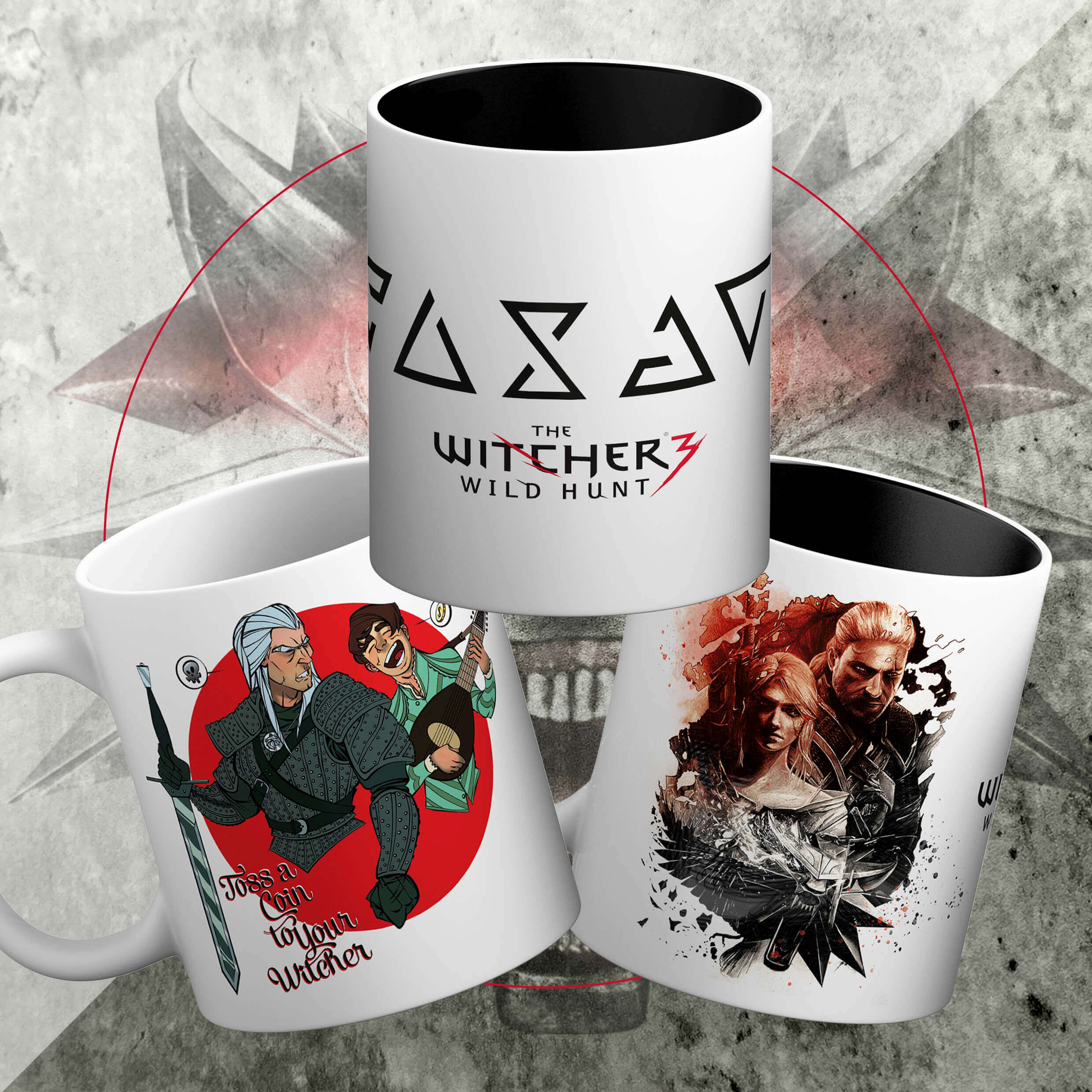 Witcher 3'lü Set